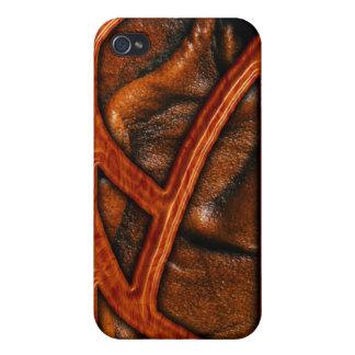 Caso del iPhone 4 del modelo de madera y del cuero iPhone 4 Protector