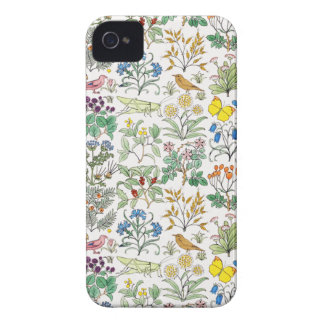 Caso del iPhone 4 del modelo del jardín del botica Case-Mate iPhone 4 Protector