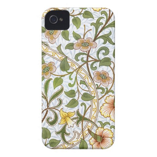 Caso del iPhone 4 del modelo del narciso de Willia iPhone 4 Case-Mate Protectores