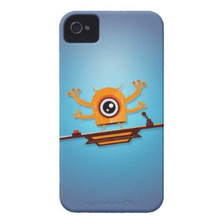 Caso del iPhone 4 del monstruo de Cutie Case-Mate iPhone 4 Protector