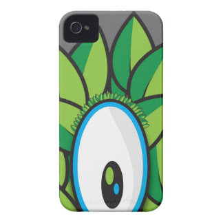 Caso del iPhone 4 del monstruo de Leef Funda Para iPhone 4 De Case-Mate