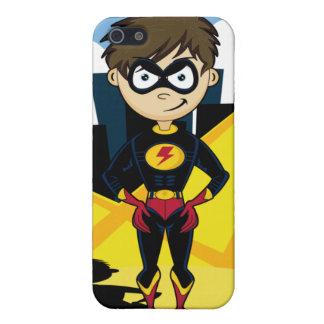 Caso del iphone 4 del muchacho del super héroe iPhone 5 cárcasa