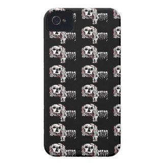 Caso del iPhone 4 del MUTT del ZOMBI del PERRO del iPhone 4 Carcasas