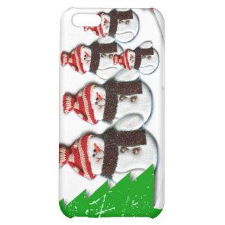 Caso del iPhone 4 del navidad de la familia del mu