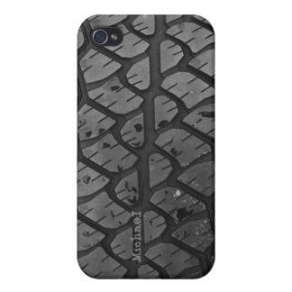 Caso del iPhone 4 del neumático del coche camión iPhone 4 Funda