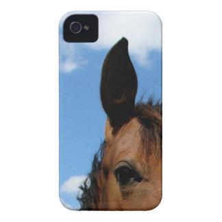 Caso del iPhone 4 del ojo del caballo Case-Mate iPhone 4 Cárcasa