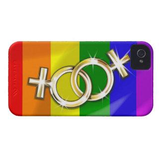 Caso del iPhone 4 del orgullo gay Case-Mate iPhone 4 Protector
