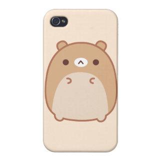 Caso del iPhone 4 del oso de Psushi iPhone 4/4S Funda