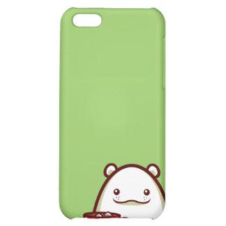Caso del iPhone 4 del oso polar de los cachos