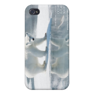 Caso del iPhone 4 del oso polar iPhone 4 Carcasa