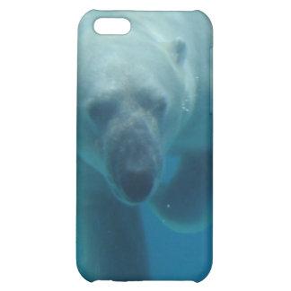 Caso del iPhone 4 del oso polar que nada