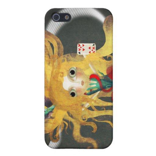 Caso del iphone 4 del país de las maravillas iPhone 5 protector