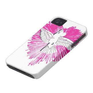 Caso del iPhone 4 del pájaro del amor iPhone 4 Coberturas
