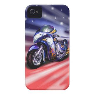 Caso del iPhone 4 del paseo de la libertad Funda Para iPhone 4