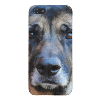 Caso del iPhone 4 del pastor alemán iPhone 5 Protector