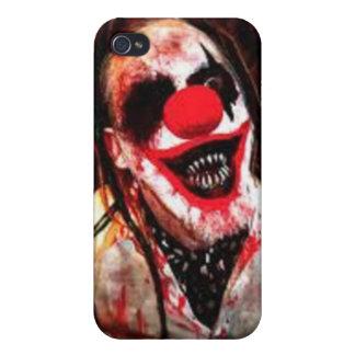 caso del iphone 4 del payaso iPhone 4 fundas