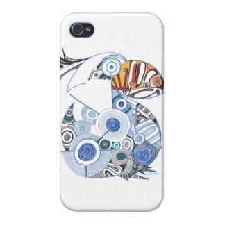 Caso del iPhone 4 del pelícano iPhone 4 Carcasas