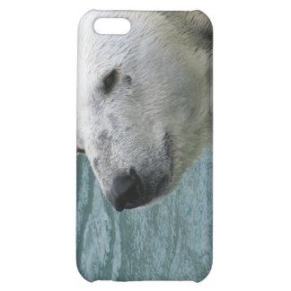 Caso del iPhone 4 del perfil del oso polar