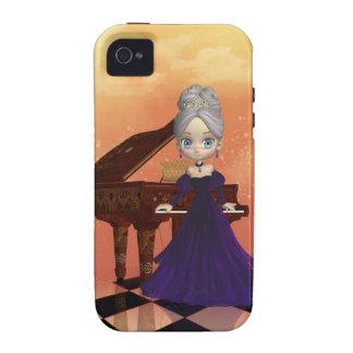 Caso del iPhone 4 del pianista Case-Mate iPhone 4 Funda