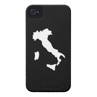 Caso del iPhone 4 del pictograma de Italia iPhone 4 Case-Mate Funda