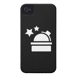 Caso del iPhone 4 del pictograma de la astronomía iPhone 4 Protectores