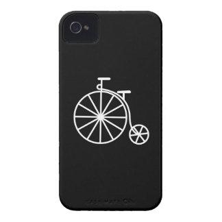 Caso del iPhone 4 del pictograma de la bicicleta d Case-Mate iPhone 4 Cárcasas
