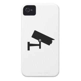 Caso del iPhone 4 del pictograma de la cámara de s iPhone 4 Case-Mate Fundas
