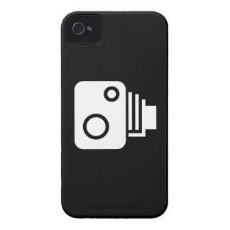 Caso del iPhone 4 del pictograma de la cámara del Case-Mate iPhone 4 Cárcasa