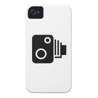 Caso del iPhone 4 del pictograma de la cámara del Case-Mate iPhone 4 Cobertura