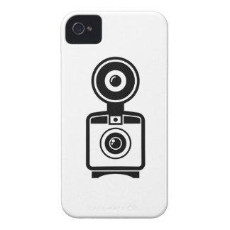 Caso del iPhone 4 del pictograma de la cámara del Case-Mate iPhone 4 Protector