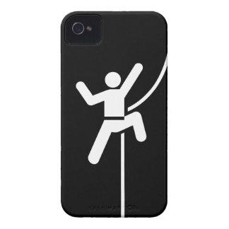 Caso del iPhone 4 del pictograma de la escalada Funda Para iPhone 4 De Case-Mate