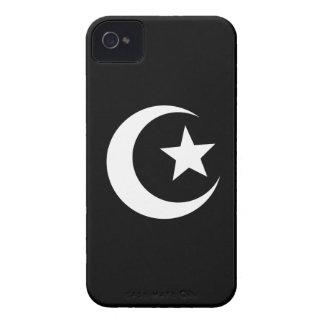 Caso del iPhone 4 del pictograma de la mezquita iPhone 4 Protectores