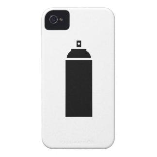 Caso del iPhone 4 del pictograma de la pintura de Case-Mate iPhone 4 Fundas