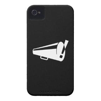 Caso del iPhone 4 del pictograma de la protesta iPhone 4 Case-Mate Carcasas