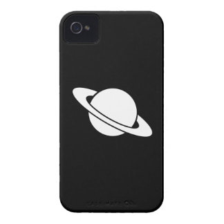 Caso del iPhone 4 del pictograma de Saturn Case-Mate iPhone 4 Cárcasas