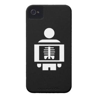 Caso del iPhone 4 del pictograma de Vision de la Case-Mate iPhone 4 Protectores