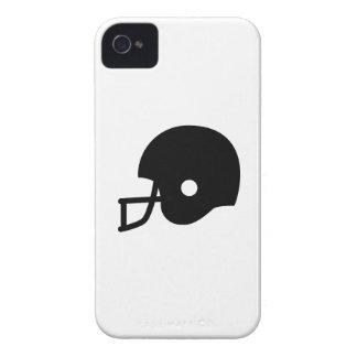 Caso del iPhone 4 del pictograma del casco de fútb iPhone 4 Case-Mate Funda