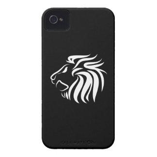 Caso del iPhone 4 del pictograma del león Case-Mate iPhone 4 Protector