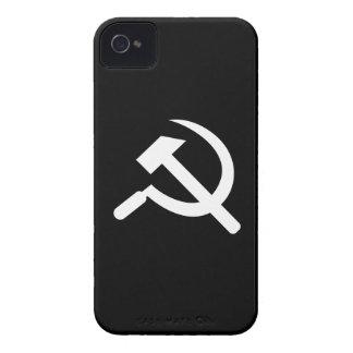 Caso del iPhone 4 del pictograma del martillo y de iPhone 4 Coberturas