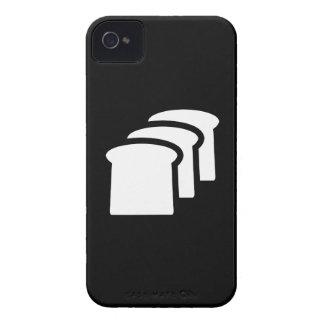 Caso del iPhone 4 del pictograma del pan iPhone 4 Case-Mate Cobertura