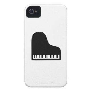 Caso del iPhone 4 del pictograma del piano iPhone 4 Carcasa