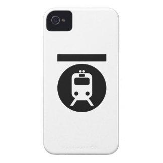 Caso del iPhone 4 del pictograma del subterráneo iPhone 4 Protector