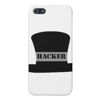 Caso del iPhone 4 del pirata informático del gorra iPhone 5 Fundas