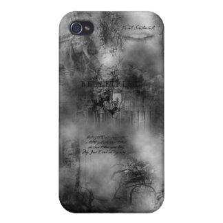 caso del iPhone 4 del poema de la niebla iPhone 4 Cárcasas