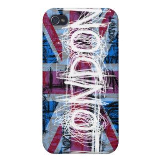 Caso del iPhone 4 del rasguño de la pintada de Lon iPhone 4 Cobertura