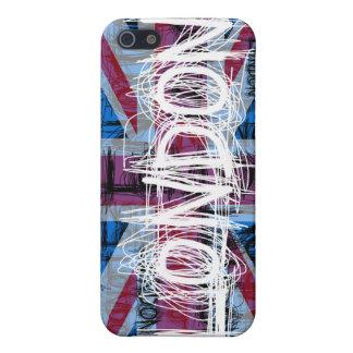 Caso del iPhone 4 del rasguño de la pintada de Lon iPhone 5 Cárcasas