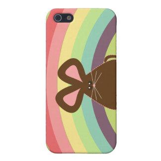Caso del iPhone 4 del ratón de Kawaii iPhone 5 Fundas