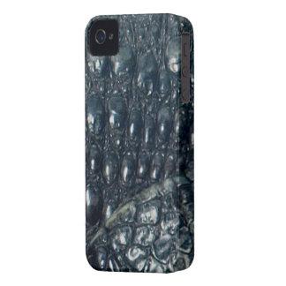 Caso del iPhone 4 del reptil de la piel del iPhone 4 Case-Mate Coberturas
