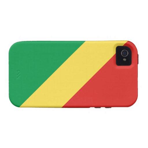 Caso del iPhone 4 del República del Congo Tough™ iPhone 4/4S Fundas