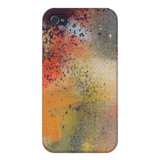 Caso del iPhone 4 del rociado (con pulverizador) I iPhone 4/4S Funda